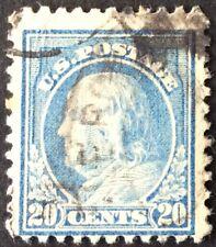 1917 20c Franklin regular issue, Scott #515, Used, VG-F