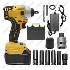 Cordless Impact Wrench 21v 12 520nm High Torque Brushless Drill With Battery