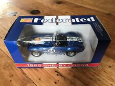First Gear Federated Auto Parts 1965 Shelby Cobra Die Cast Car