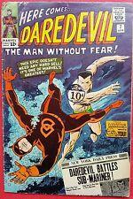 Daredevil 7 Marvel Silver Age 1965 1st time Daredevil in red costume