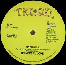 "UNIVERSAL LOVE "" MOON RIDE "" /  MAD DOG FIRE DEPT "" COSMIC FUNK "" NEW U.S.12"