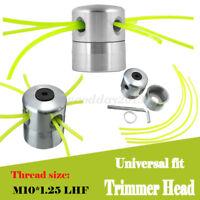 Universal fit Aluminium Trimmer Head Strimmer line Double Bobbin Brush cutter