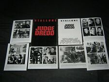 Original JUDGE DREDD Press Kit 6 PICS 36 Pages SYLVESTER STALLONE