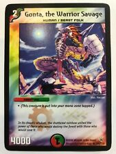 Duel Masters DM10 Gonta the Warrior Savage Shockwaves of the Shattered Rainbow
