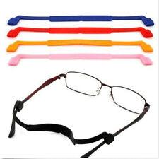 1X Silicone Eyeglasses Strap Glasses Sunglasses Sports Band Cord Rope Holder sm