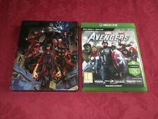AVENGERS XBOX ONE GAME WITH STEELBOOK CASE