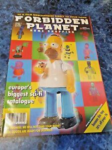 Rare Forbidden Planet Toy Catalogue The Simpsons Star Wars LOTR Marvel Horror 02