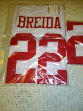 Matt Breida San Francisco 49ers Autographed Jersey White TSE COA XL