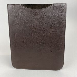 """MULBERRY iPad Sleeve/Case Pouch Brown Leather 8.4 x 10"""""""