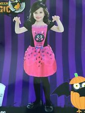 "BNWT Girls Halloween Dressing Up Outfit ""Cat Dress"" Age 3-5 Years New"