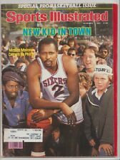 1982 Sports Illustrated NBA Prevu 76ers St Louis Cardinals World Series Canadien