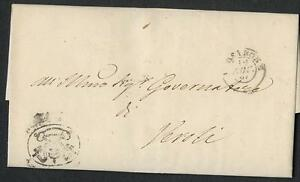 Kirchenstaat Stempel 1867, Siegel Vor-/Rueckseite, mit Inhalt #l269
