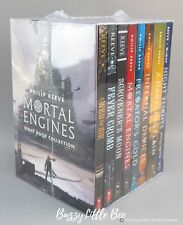 NEW Mortal Engines~Eight (8) Book Collection~Box Set~Philip Reeve PRIORITY ship