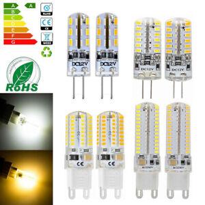 G4 G9 3W 5W 6W 10W LED COB Globes Corn Bulb 3014 SMD Light Lamp 12V 220V - 240V