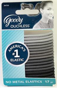 GOODY - Shades of Gray Elastics - 17 Pack