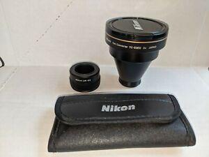 Nikon UR-E2 Tele Converter TC-E3ED Filters