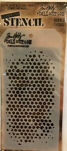"Tim Holtz Layered Stencil 4.125""X8.5""-Bubble"