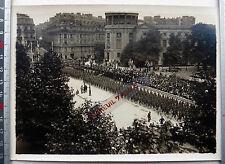 Press photo rol 14 18 war parade july 4 independence day paris place iena
