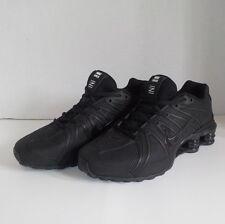 Nike SHOX OZ 801 Running Shoes BLACK/WHITE Men Size 10 NIB