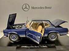 1:18 NOREV Mercedes 230 SL Pagode blau Limitded Edition NEU NEW