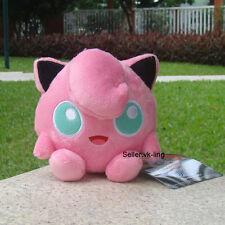 "Cute Pokemon Center Go Plush Toy Jigglypuff 5"" Nintendo Game Stuffed Animal Doll"
