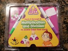 Star Right Multiplication And Division Double-Sided Flash Cards, New in package