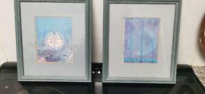 HARVEST MOON & TREE of PERSONAL EFFORT - CHARLES RENNIE MACKINTOSH framed prints