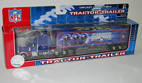 NFL Football Semi Truck Tractor Trailer Hauler Collectible New York Giants