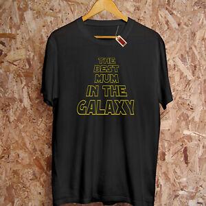 Best Mum dans Le Galaxy Mother's Jour Mom Étoile Noël Wars Cadeau Drôle T-Shirt