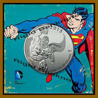 Canada $20 Dollars Fine Silver Coin, 1/4 OZ 2015 DC Comics Superman
