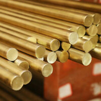 Kupfer Rundstange Messing Rundmaterial Rundmessing Stab Ø4-12mm Länge 100-500mm
