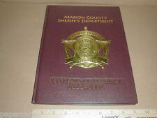 Marion County Indiana IN Sheriff's Dept 1822-2002 history officer yearbook book