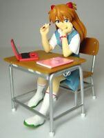 Evangelion Asuka Langley Class Room Diorama Figure Set SEGA JAPAN ANIME