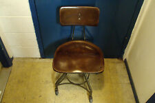 1930 SIMPLEX PRINTER OPERATORS CHAIR 2-C WESTERN UNION TELEGRAPH INDUSTRIAL AGE