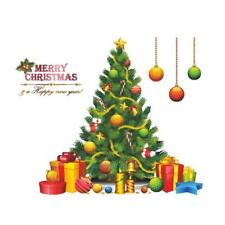 Christmas Tree Xmas Creative Wall Paper Stickers Decal Home Shop Window Decor