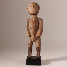 11027 Gurunsi Altar Figure Burkina Faso Wooden Base