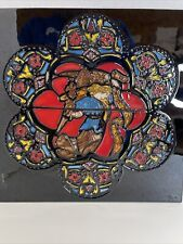 New listing Vtg Large Hand painted Exquisite Artistic Ceramic Tile By B.T. 11 3/4�X 11 3/4�