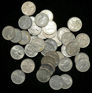 LOT of 39 British Sixpence Coins Bridal Shop Gifts Hand them out with Purchases