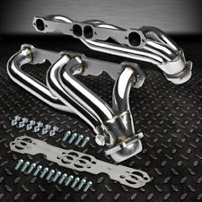 FOR 88-97 CHEVY/GMC 5.0/5.7 V8 C/K TRUCK STAINLESS STEEL HEADER EXHAUST MANIFOLD