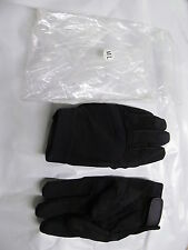 Military Tactical Gloves Black Size M/L NI MZ0101