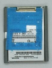 "Toshiba 160GB ZIF 1.8"" HDD MK1634GAL - for iPod Classic 7th gen (thin profile)"
