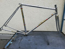 Rare Full Chrome Sante Pogliaghi Italcorse Road Bike Frame never ridden 51 NOS