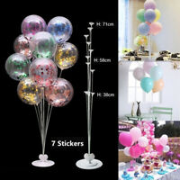 7 In 1 Plastic Balloon Accessory Base Table Aupport Holder Cup Stick Stand Party