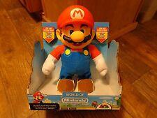 "2016 Jakks Pacific-World Of Nintendo-10"" Super Jumping Mario Figure (New)"