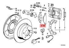 Genuine BMW E30 E32 E34 E36 Z3 Rear Brake Pads Pad Set OEM 34216761253