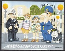 Insel Man Block 21 postfrisch Briefträger Pat zu Besuch auf der Insel Man