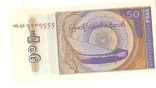 BANCONOTA ASIA 50 PYAS CENTRAL BANK OF MYANMAR     (7)