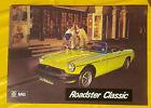 MG B Roadster Prospekt / brochure 1975