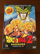 DRAGON BALL Z VOL 22 - 2 DVD CAP 174 A 181 -200 MIN - REMASTERIZADA SIN CENSURA