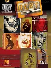 Broadway Singers Edition: Rent by Jonathan Larson (Mixed media product, 2013)